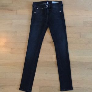 Lightly used Rag and Bone blue jeans